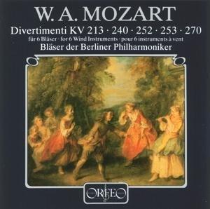 Divertimenti für 6 Bläser KV 213/240/252/253/270