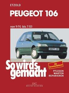 Peugeot 106 von 9/91 bis 7/03