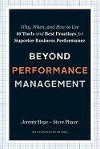 Beyond Performance Management