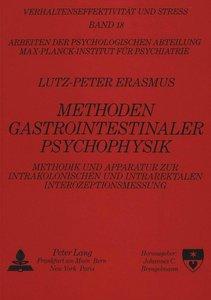 Methoden Gastrointestinaler Psychophysik
