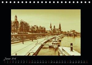 Dresden - Fotografien wie aus guten alten Zeiten / CH-Version (T