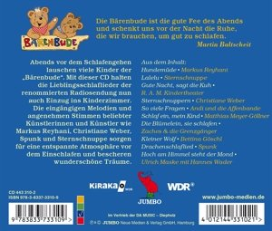 Bärenbude Lieblingslieder Zur Guten Nacht