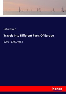 Travels Into Different Parts Of Europe
