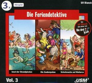 Die Feriendetektive Hörbox 3 (3 Audio-CDs)