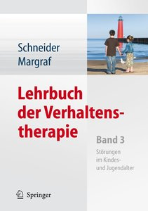 Lehrbuch der Verhaltenstherapie. Band 3