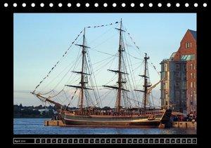 Vollschiffe und Barken 2016 (Tischkalender 2016 DIN A5 quer)