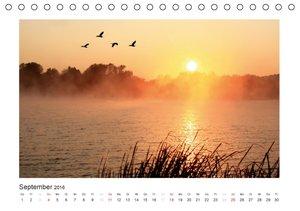 Das Weserbergland (Tischkalender 2016 DIN A5 quer)