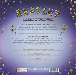 "Magical Mystery Tour Deluxe Ed. (DVD,Bluray+7""2LP)"