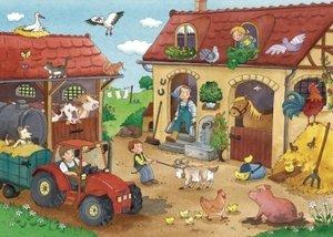 Ravensburger 075607 - Fleißig auf dem Bauernhof