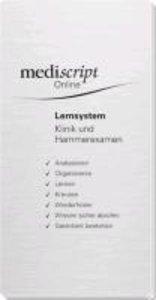 mediscript Online plus Lernsystem Klinik & Hammerexamen