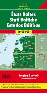 Baltische Staaten / Baltic States 1 : 400 000 Autokarte