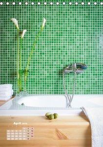 Zeit für dich im Bad (Tischkalender 2016 DIN A5 hoch)