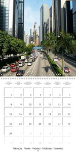 China Mysterious and beautiful land (Wall Calendar 2016 300 × 30