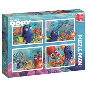Disney Finding Dory Puzzle 4 in 1 Bumper Pack