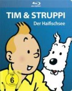 Tim & Struppi-Der Haifischsee BD Steelbook