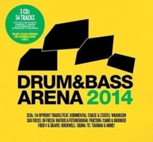 Drum & Bass Arena 2014 (3CD+MP3)