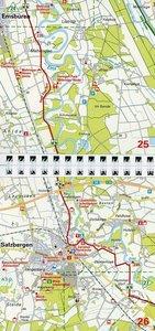 Hase-Ems-Tour 1 : 50 000. Radwanderkarte