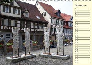 Unterwegs in Schorndorf (Wandkalender 2017 DIN A2 quer)