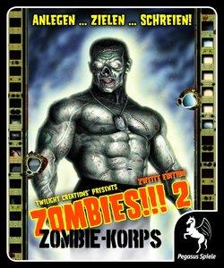 Pegasus Spiele 54110G - Zombies!!! 2 - Zombie-Korps