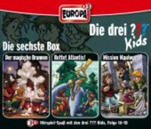 Die drei ??? Kids 3er Box - Folgen 16-18