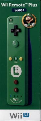 Remote Plus Luigi Edition, Controller, grün - zum Schließen ins Bild klicken