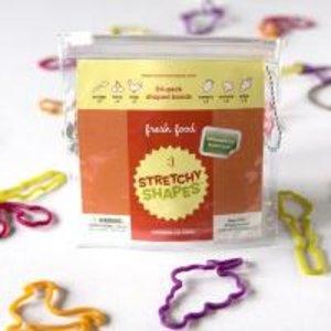 Stretchy Shapes Fresh Food. 24 Stück