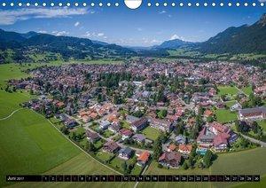 Oberallgäu - Oberstdorf und Umgebung (Wandkalender 2017 DIN A4 q