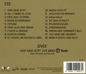 Wir Sind Gott-Tour Edition (Digipak)