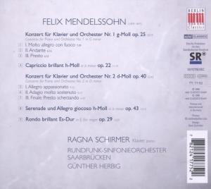 Piano Concertos-Klavierkonzerte 1 & 2