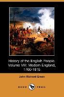 History of the English People, Volume VIII - zum Schließen ins Bild klicken