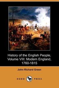 History of the English People, Volume VIII
