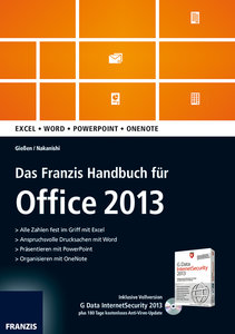 Handbuch Office 2013 (CD+Buch)