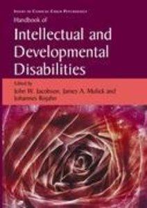 Handbook of Intellectual and Developmental Disabilities