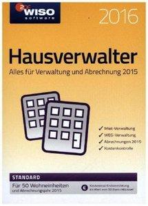 WISO Hausverwalter 2016. Standard mit 50 Wohnungen
