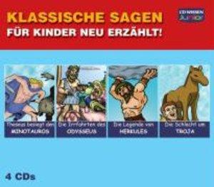 Klassische Sagen für Kinder neu erzählt - Sammelbox