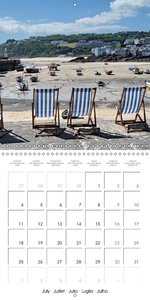 Southwest Great Britain (Wall Calendar 2016 300 × 300 mm Square)