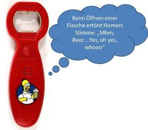"""The Simpsons - 2 Bierhumpen mit Öffner im Set """"Conserve Water, D"""