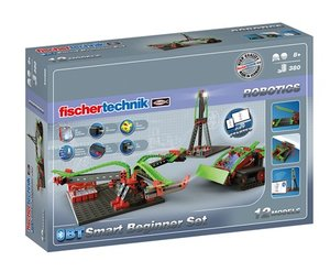 Fischertechnik 540586 - ROBOTICS BT Smart Beginner Set, mit Blue