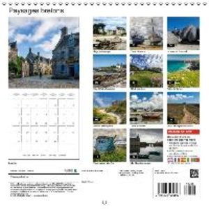 Paysages bretons (Calendrier mural 2015 300 × 300 mm Square)