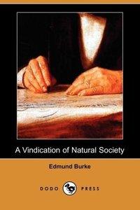 A Vindication of Natural Society (Dodo Press)
