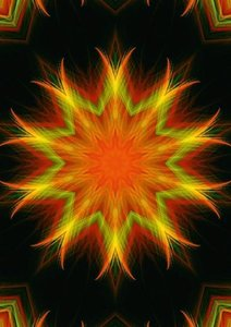Mandala - Esoterics & Meditation (Poster Book DIN A4 Portrait)