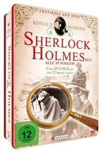 Sherlock Holmes Deluxe-Metallbox (6 DVDS)