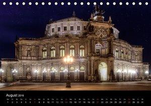 Dresden Altstadt (Tischkalender 2016 DIN A5 quer)
