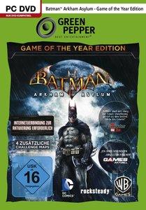 Green Pepper: Batman: Arkham Asylum - Game of the Year Edition