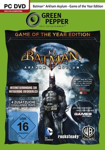 Green Pepper: Batman: Arkham Asylum - Game of the Year Edition