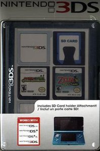 Nintendo 3DS - Game Card Cases Black (24 Spiele)