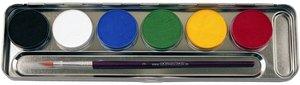 Corvus A190606 - Eulenspiegel: Schminke, 6 Farben