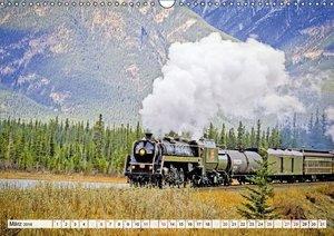 Dampflokomotiven: Mit Volldampf durch die Welt (Wandkalender 201