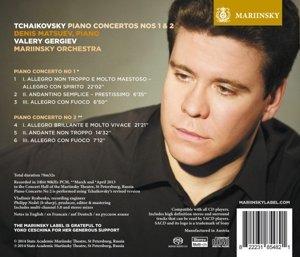Klavierkonzerte Nr.1 & 2