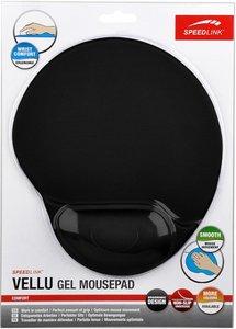 Speedlink SL-6211-SBK-01 VELLU Gel Mousepad, schwarz